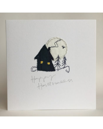 Sarah,becvar,design,halloween,embroidered card
