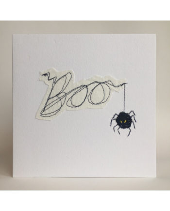 Sarah,becvar,design,embroidered,greetings,card,halloween