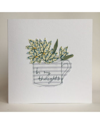 Sarah,becvar,design,embroidered,cards,flowers