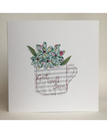 Sarah,becvar,design,get,well,soon,card,embroidery,flowers