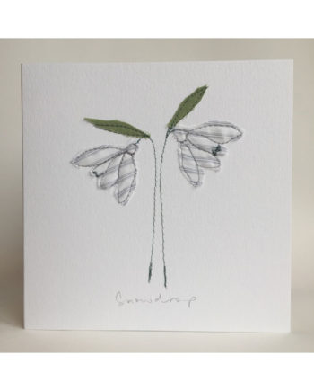 Sarah,becvar,design,embroidery,freemotion,snowdrop,floribunda,cards